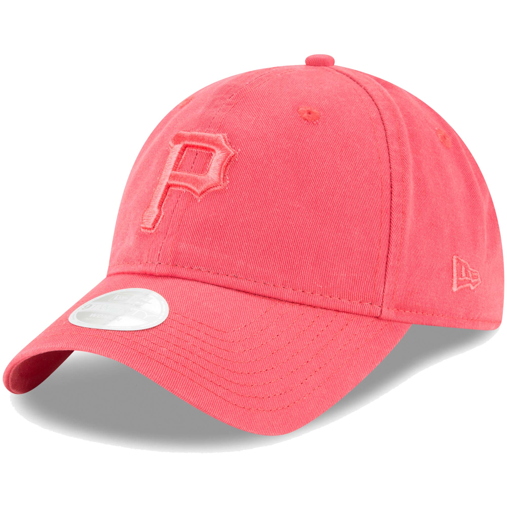 Pittsburgh Pirates New Era Women's Core Classic Twill 9TWENTY Adjustable Hat - Pink - OSFA