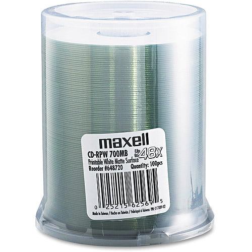 Maxell 648720 48x CD-R Media