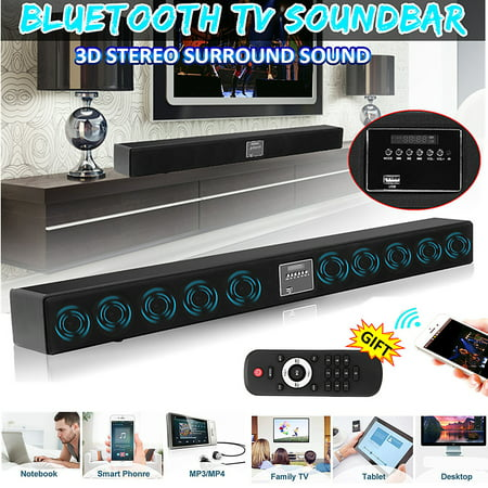 CLSS-D 10 Speaker Powerful Wireless Bluetoot h Hifi Stereo Audio Home Theater TV Soundbar 3D Surround Music Player Speaker Subwoofer + Remote U-disk SD for PC Cellphone (Best 2.1 Speakers For Music)