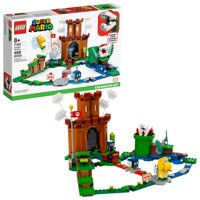 LEGO Super Mario Guarded Fortress Expansion Set 71362 Collectible Building Playset for Kids (468 Pieces)