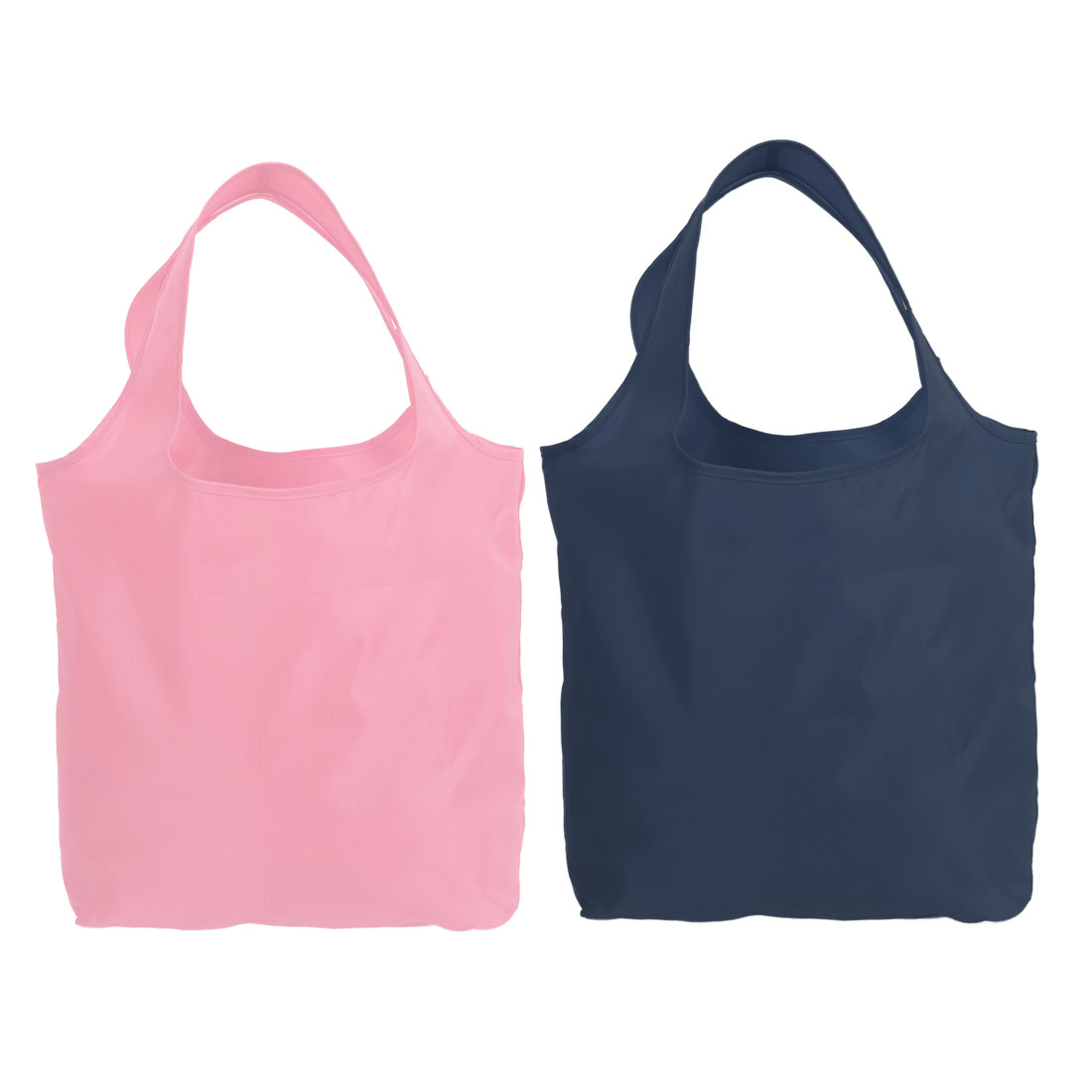 1805269860 Outdoor Polyester Shoulder Carrier Foldable Shopping Bag Navy ...