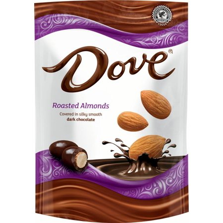 Dove Dark Chocolate Almond Candy, 5.5 Oz.