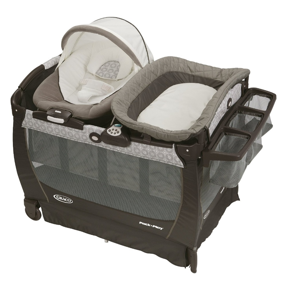 Graco Pack 'n Play Play Pen Snuggle Suite LX, Abbington by Graco