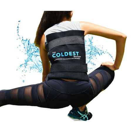 The Coldest Water Ice Pack Large With Straps - Cold Therapy