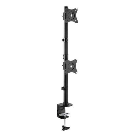 StarTech Vertical Dual Monitor Desk Mount - 27