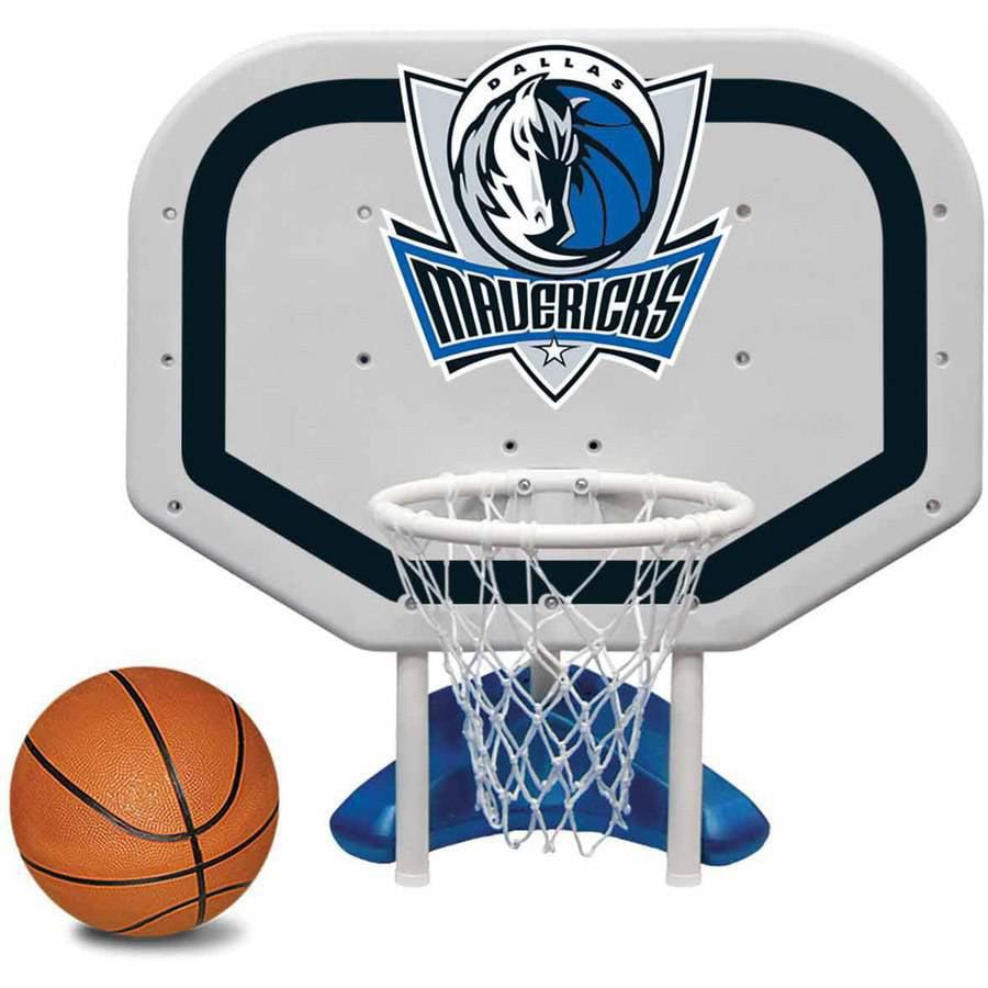 Poolmaster Dallas Mavericks NBA Pro Rebounder-Style Poolside Basketball Game