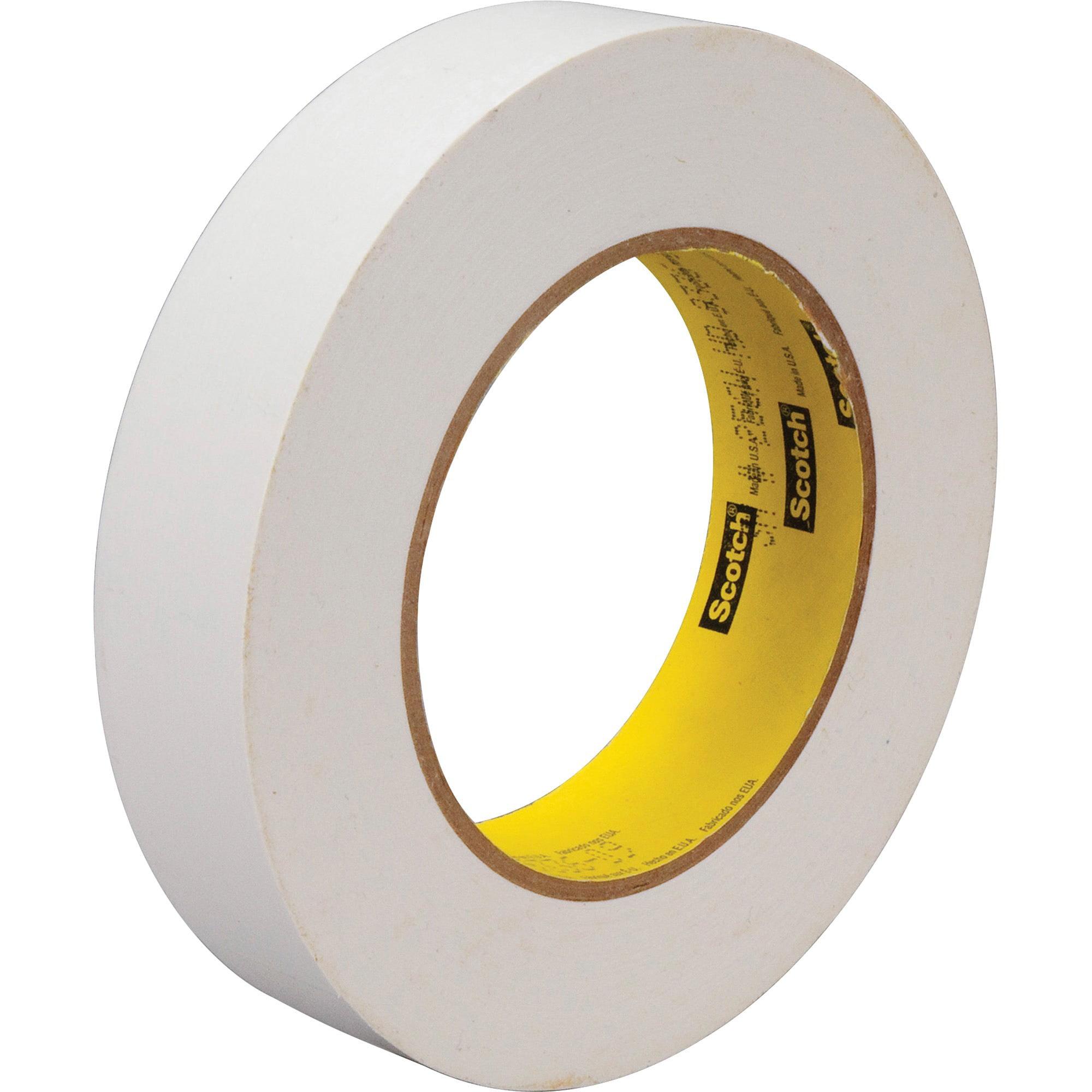 Scotch, MMM2561, Flatback Write-On Paper Tape, 1 / Roll, White