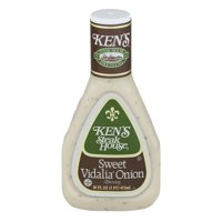 (2 Pack) Ken's Steak House Sweet Vidalia Onion Dressing 16 Oz Plastic Bottle