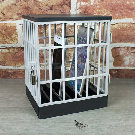 Cell Phone Jail Cell Prison Lock-Up Stop Disturbances Distractions Talking Fun Gag Party (Best Deal On A Samsung S8)