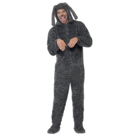 Male Dog Costumes (Adult Fluffy Dog Costume)