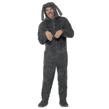 Adult Fluffy Dog Costume](Dog Costume Prisoner)