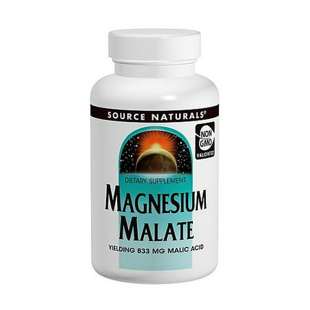 - Source Naturals Magnesium Malate 180 Tablets