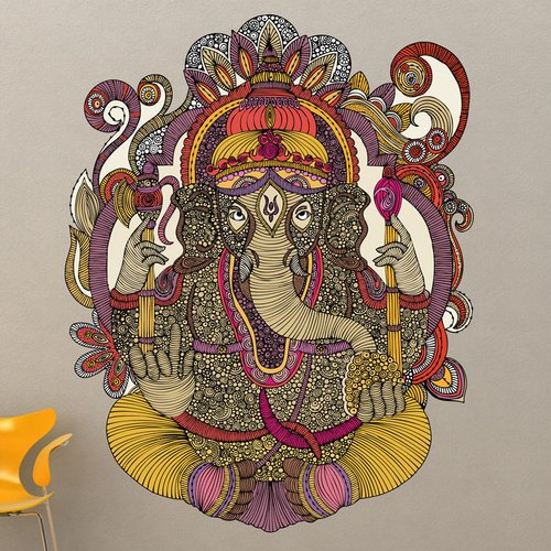 My Wonderful Walls Ganesha by Valentina Harper Wall Decal