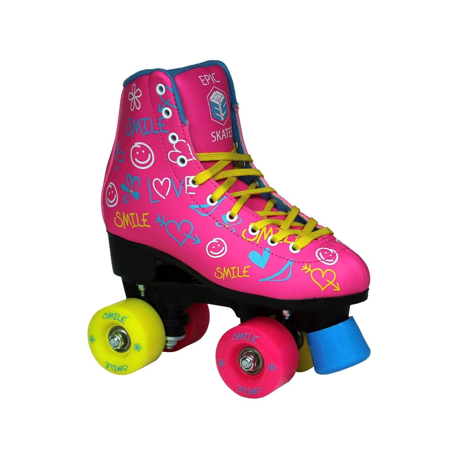 Epic Blush Quad Roller Skates by Epic Skates