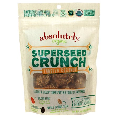 Image of Absolutely Gluten Free Gluten Free Super Seed Trail Mix, Toasted Coconut, 4.5 Oz