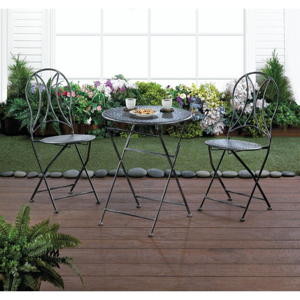 Home Locomotion 849179027940 Hammered Textured Patio Set - image 1 of 2