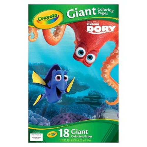 Crayola Disney Pixar Finding Dory Giant Coloring Pages 18 ct Pack by Generic