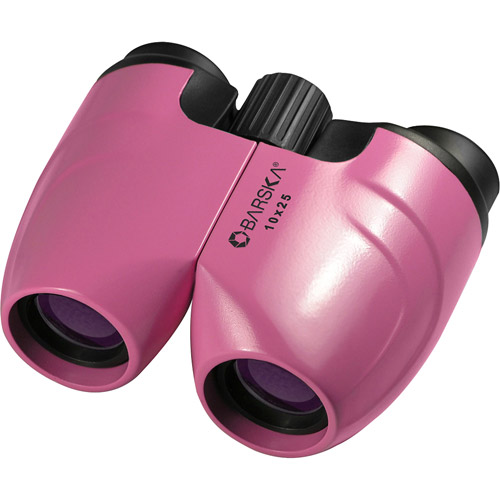 Barska 10 x 25mm Colorado Binoculars, Pink