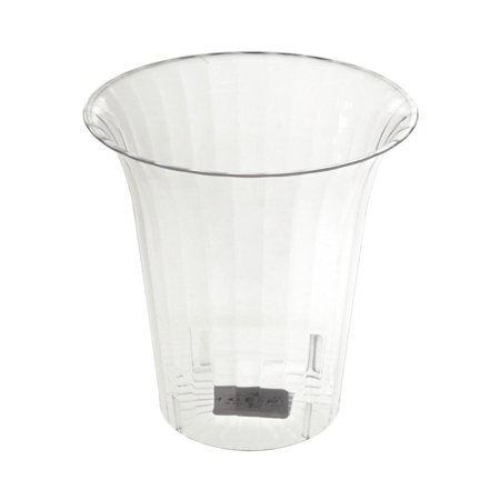 Clear Plastic Flared Cylinder Favor Container, 6-Inch (Plastic Cylinder Containers)