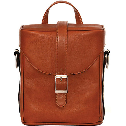Jill-E Designs LLC Jack Hudson All Leather Camera Bag, Tan by JILL-E DESIGNS LLC