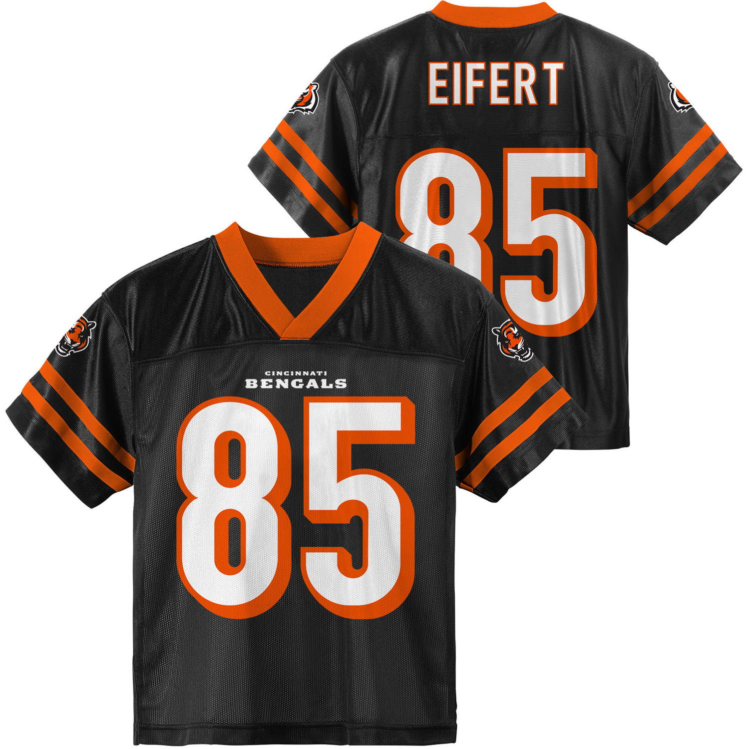 NFL, Player: T Eifert, Cincinnati Bengals, YOUTH Player Jersey, Size 4(XS) - 18(XXL), Team Color with Number