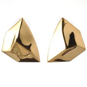 De Buman  Yellow Gold Plated Or Rose Gold Plated Earrings