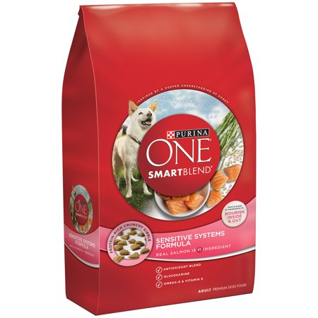 Purina One Smartblend Sensitive Systems Formula Adult Premium Dog Food 31 1 Lb  Bag