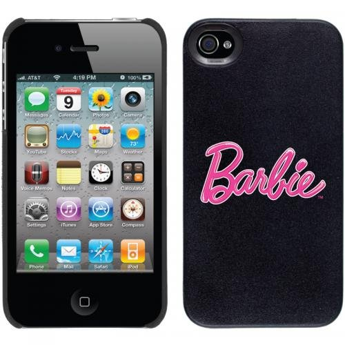 Barbie - Logo design on iPhone 4 / 4S Thinshield Snap-On Case by Coveroo