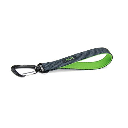 Mighty Paw Training Tab, 10 inch Short Dog Leash, Padded Handle, Strong Traffic Pet Lead with Carabiner Clip, Perfect for Large or Medium Dogs (10 in,