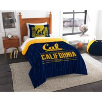 "NCAA California Golden Bears ""Modern Take"" Bedding Comforter Set"