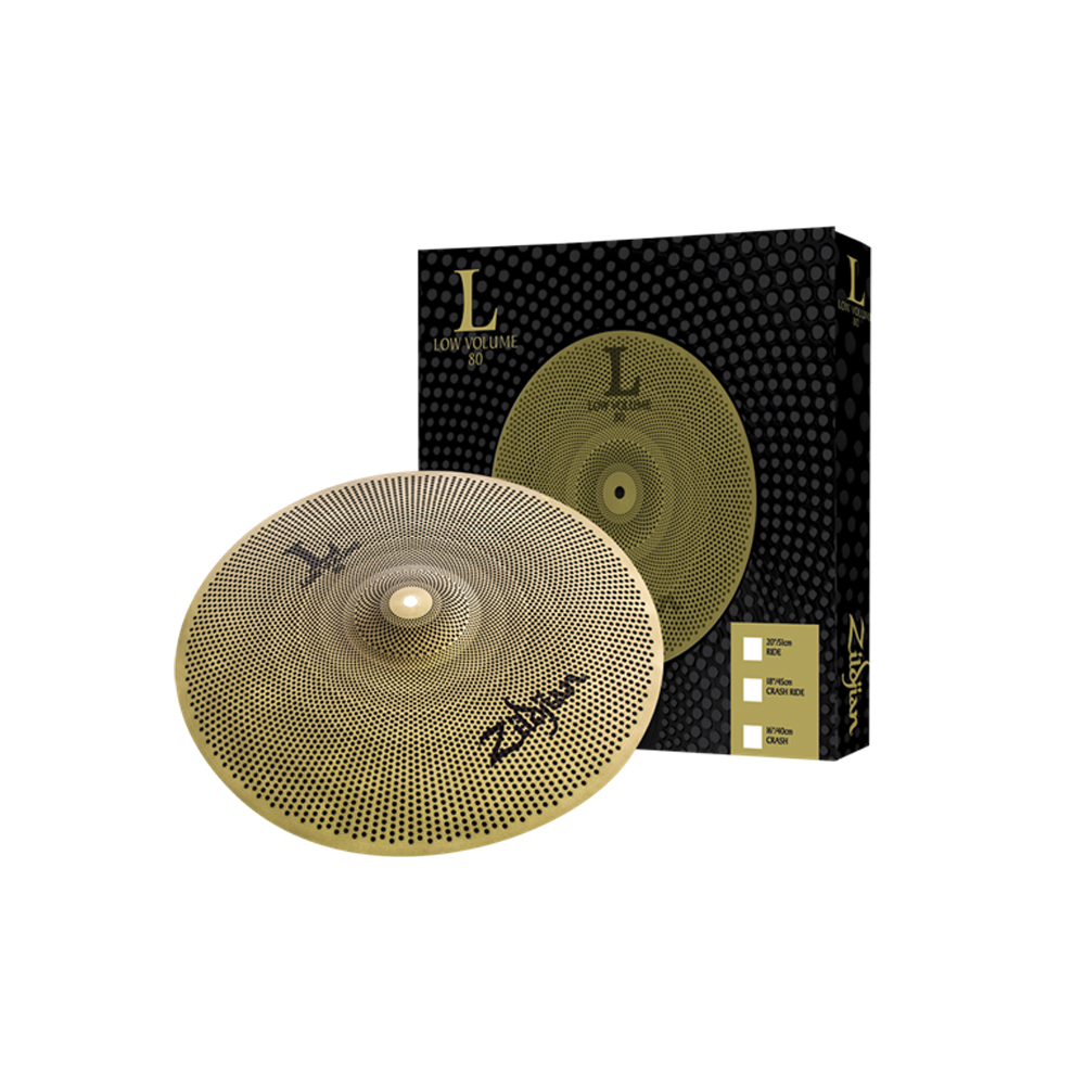 "Zildjian L80 Low Volume 18"" Crash/Ride Cymbal"