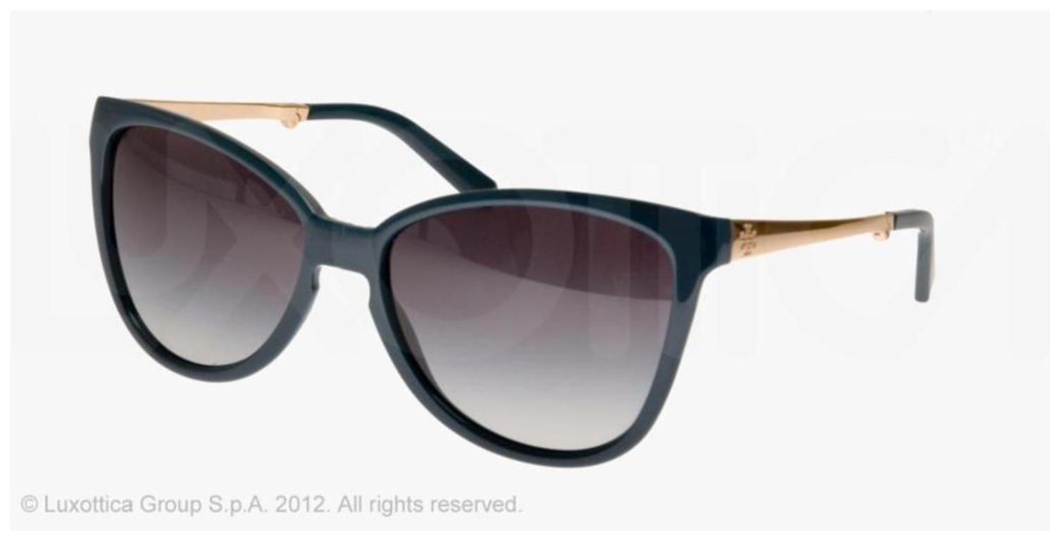 a9b78d698760 Tory Burch - Tory Burch TY9019 114811 Teal Folding Cateye Sunglasses -  Walmart.com