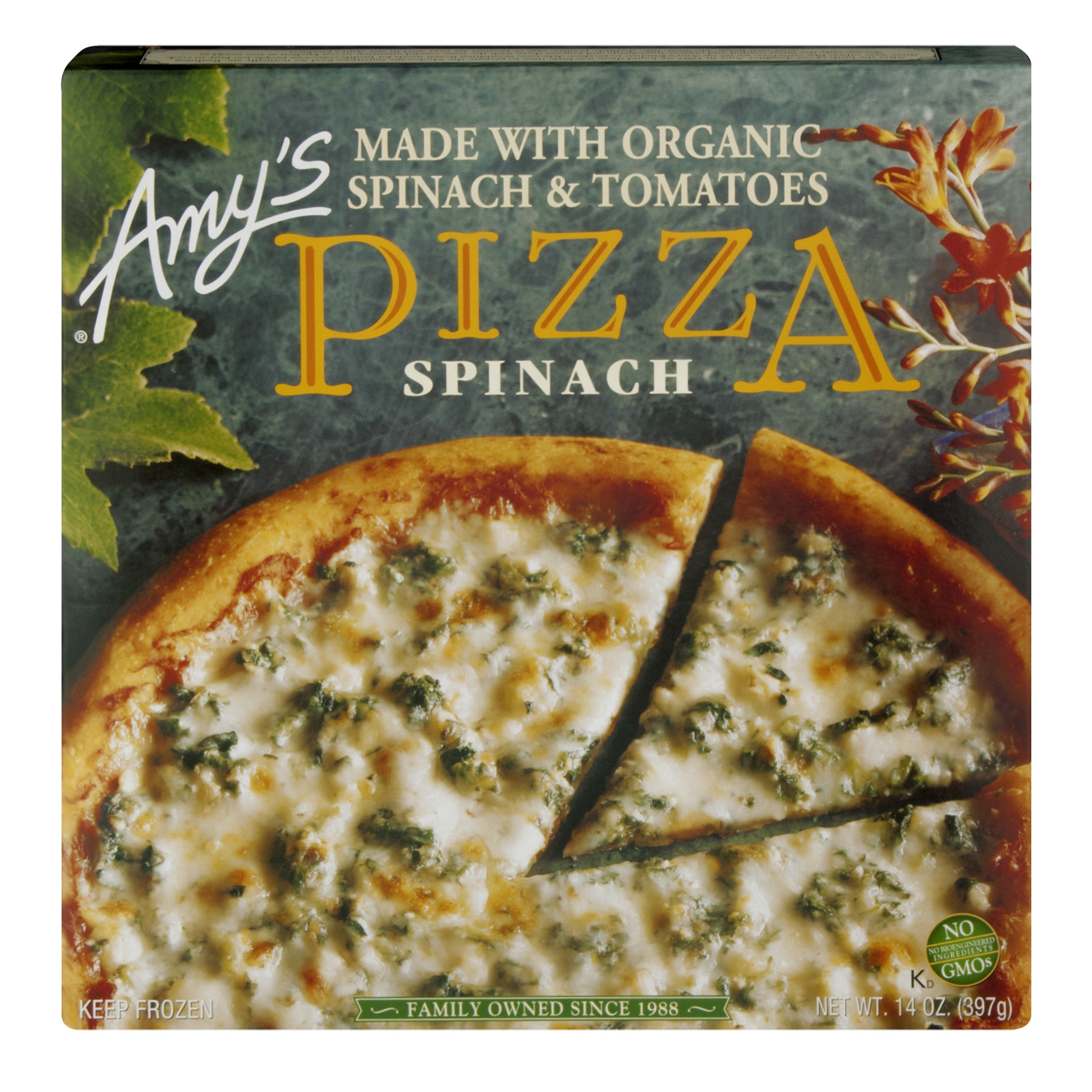 Amy's Spinach Pizza, 14 oz