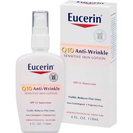 Eucerin Q10 Anti-Wrinkle Sensitive Skin Lotion SPF 15 4