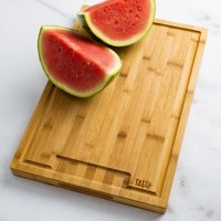 Tasty 18x12 Bamboo Chopping and Serving Board