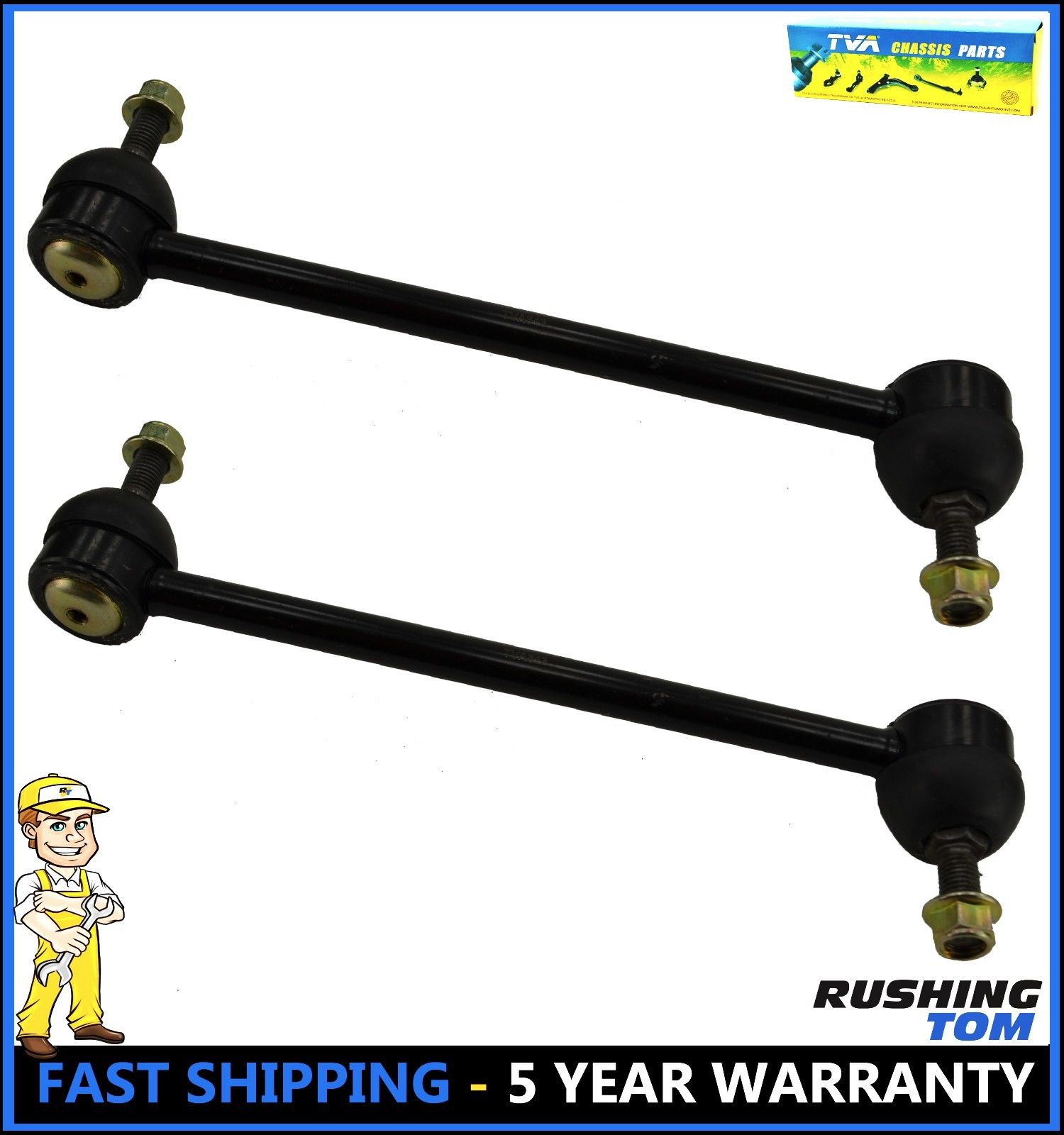 Rear Stabilizer Sway Bar End Link Pair For Camry ES350 Avalon Left /& Right Set 2