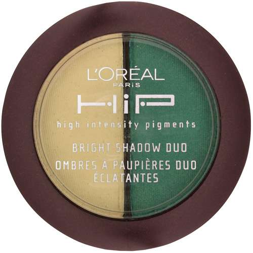 Loreal Loreal HiP High Intensity Pigments Bright Shadow Duo, 0.08 oz