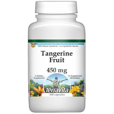 Tangerine Fruit   450 Mg  100 Capsules  Zin  521882