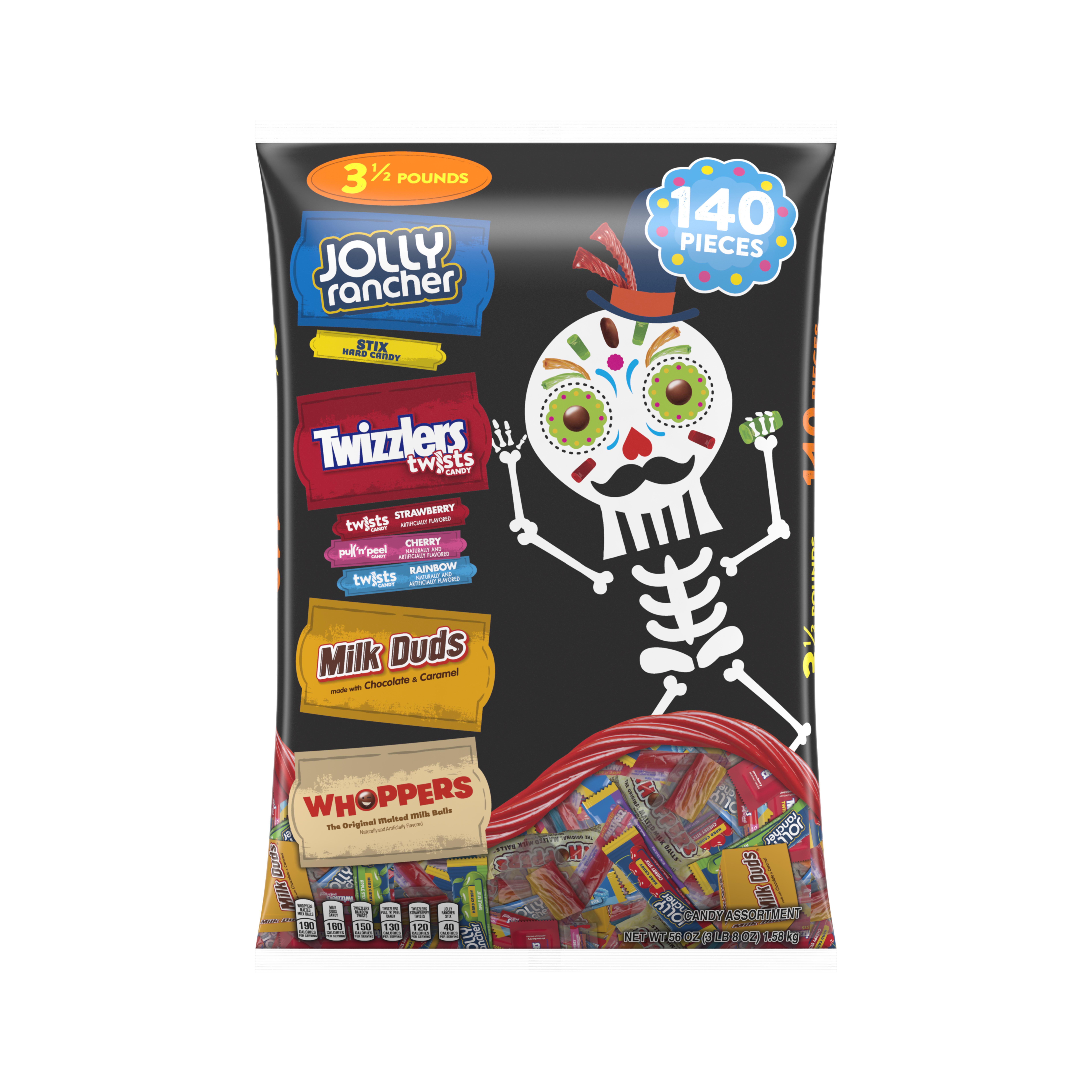 Hershey Halloween Snack Size Assortment, 140 Pieces