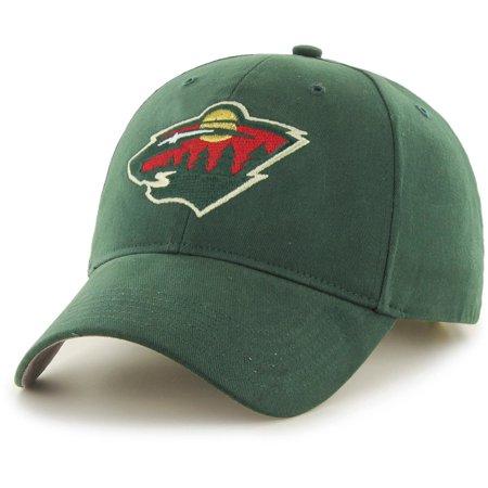 Nhl Minnesota Wild Basic Cap   Hat By Fan Favorite
