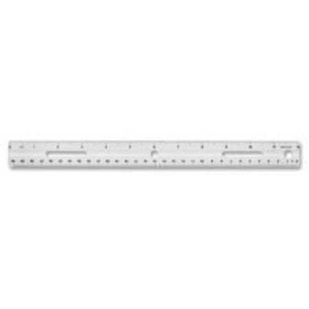Business Source Standard Metric Ruler - 12