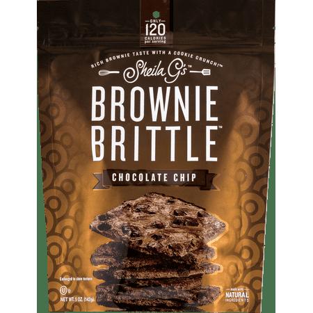 Kosher Brownie - Sheila G's Chocolate Chip Brownie Brittle, 5 oz
