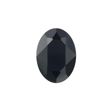 Swarovski Crystal, #4120 Oval Fancy Stones 14x10mm, 1 Piece, (Oval Jet)