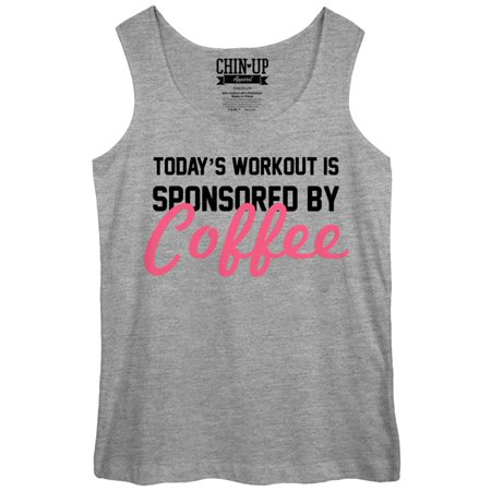 5d86a4d850c5a2 CHIN UP - CHIN UP Sponsored by Coffee Womens Graphic Tank Top - Fifth Sun -  Walmart.com