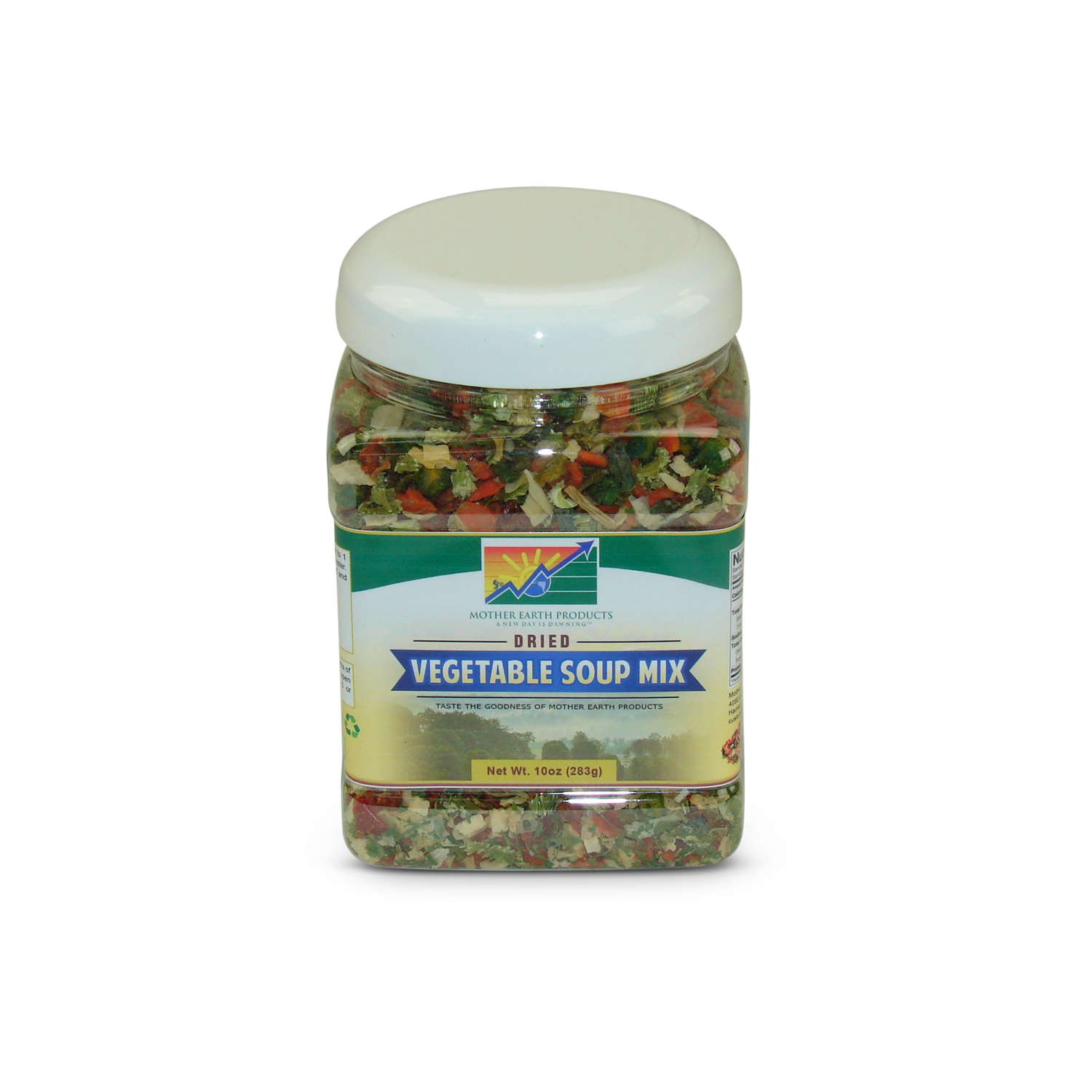 Mother Earth Products Dehydrated Vegetable Soup Blend, jar by Mother Earth Products