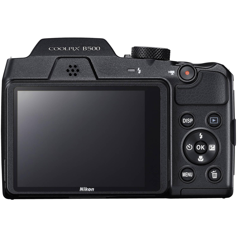 Nikon Black COOLPIX B500 Digital Camera with 16 Megapixels