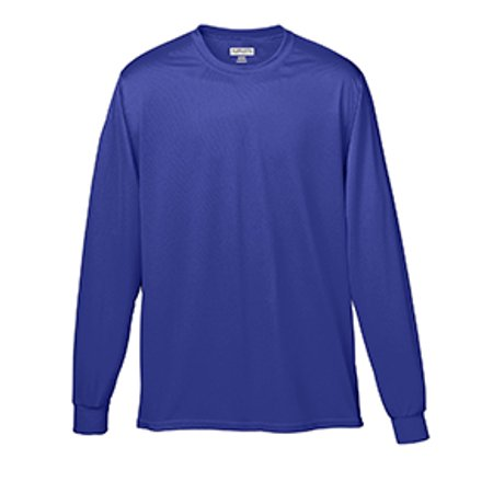 Augusta Sportswear 788 Adult Wicking Long-Sleeve T-Shirt