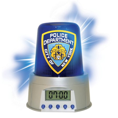 NYPD Alarm Clock (Other) - Nypd Decorations