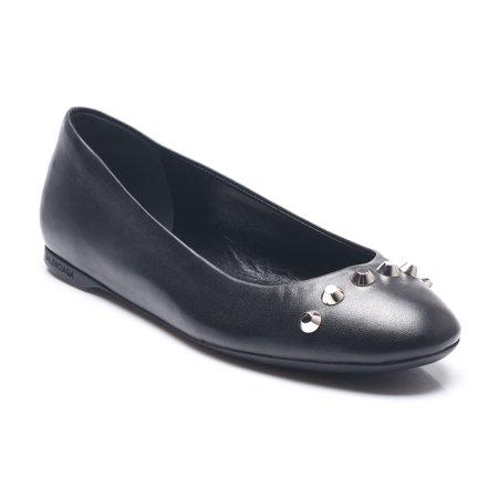Balenciaga Balenciaga Womens Leather Studded Ballerina Shoes