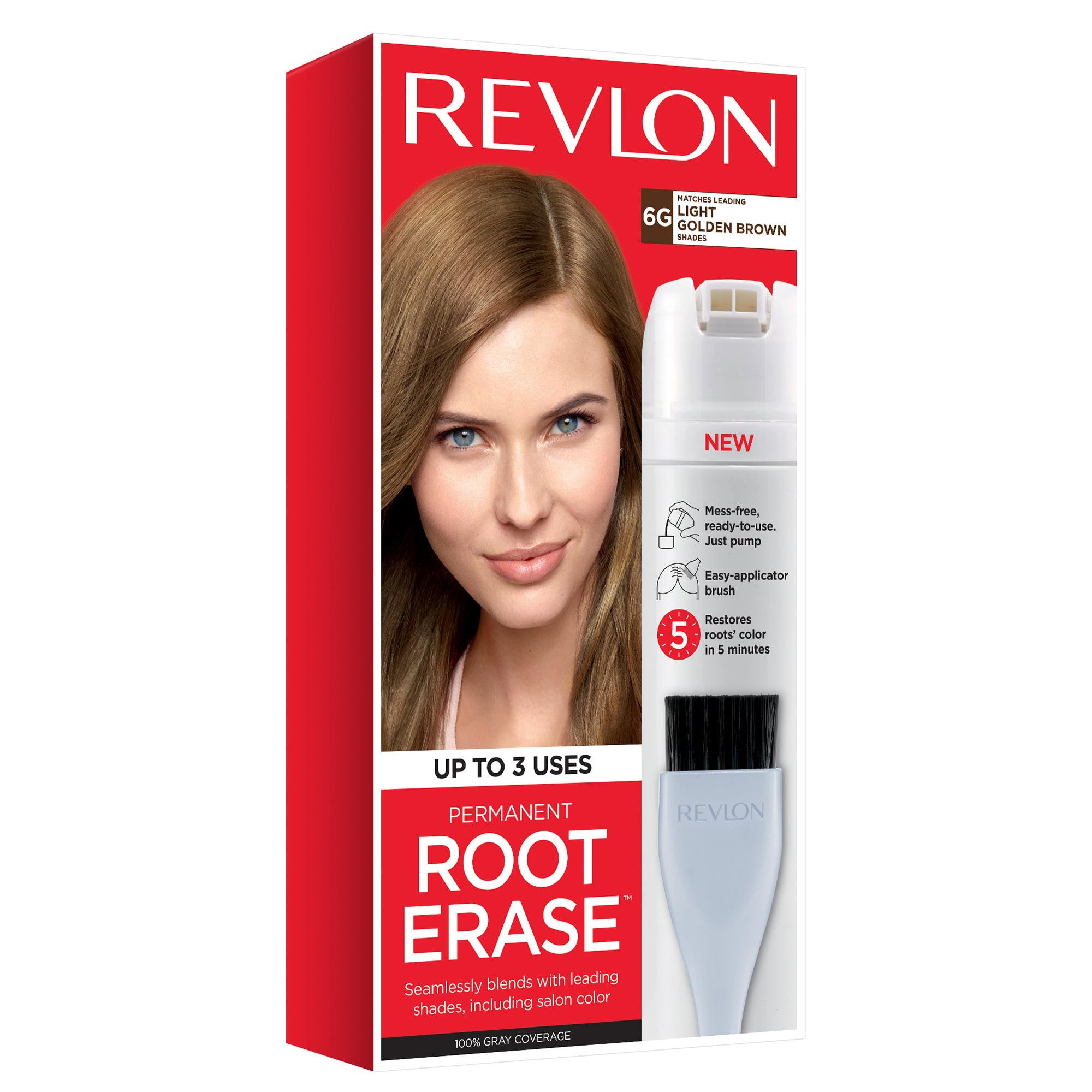 Revlon Root Erase Hair Color, Black